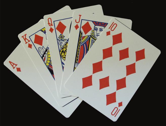 Il poker giocato a carte scoperte